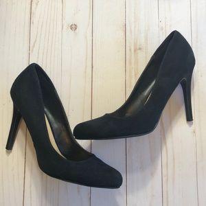 Lauren Conrad Black Heels 8.5